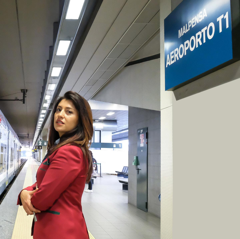 Train Malpensa Terminal 1